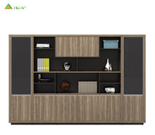 China Supplier Practical Office Furniture high end luxury overhead wooden big lots Filing cabinet for office