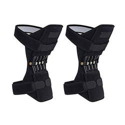 2020 New Arrivals Neoprene Waterproof Power Lift Spring Force Tool Joint Knee Support Brace Pads