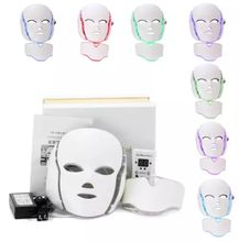 High Quality Facial Skin Care Beauty Led Mask White Portable Pdt Machine Fade Wrinkles And Scars Led Face Mask