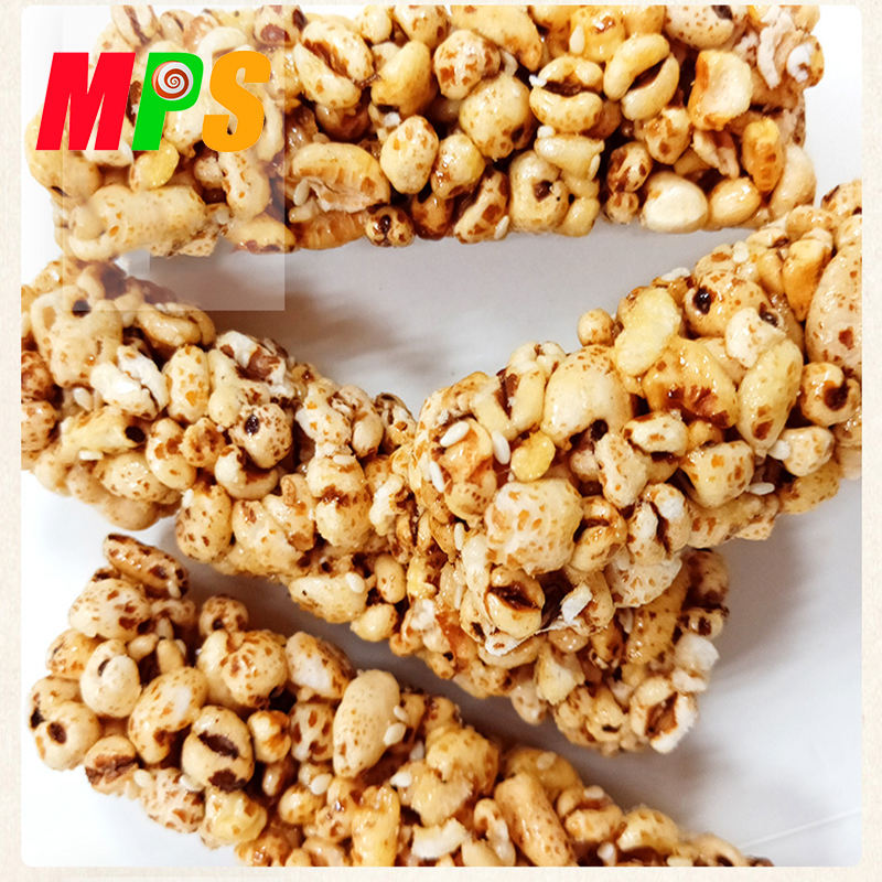 Wholesale Highland Barley Rice Stick Puffed Rice Halal Grain Snack 320g