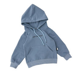 2020 Wholesale Solid Color Customized Knitted Cotton Baby Boy Pullover Hoodie Sweatershirt