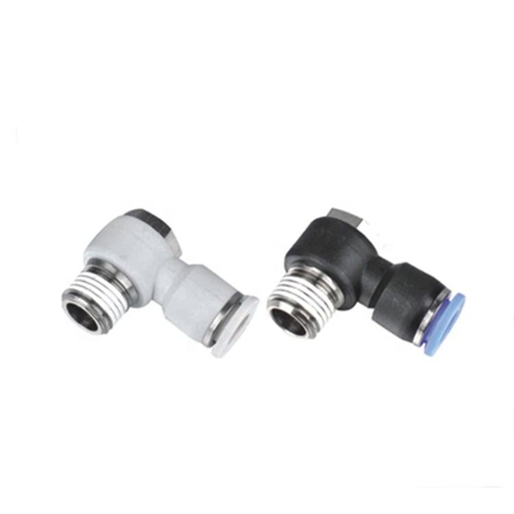 PH Series Outer hexagon 2 way Quick Connecting Pneumatic Pipe Tube Fitting