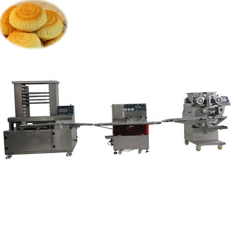 Automatic Mooncake Cookies Mammoul Making Machine