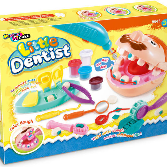 Perfect Kraft play dough Doctor Drill 'N Fill Dentist kit for kids