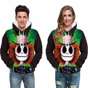 2021 Hoodie Thicken Oversized Solid Color Skull Custom Logo Printed Pattern Hoodie Men's and Women's Hoodie