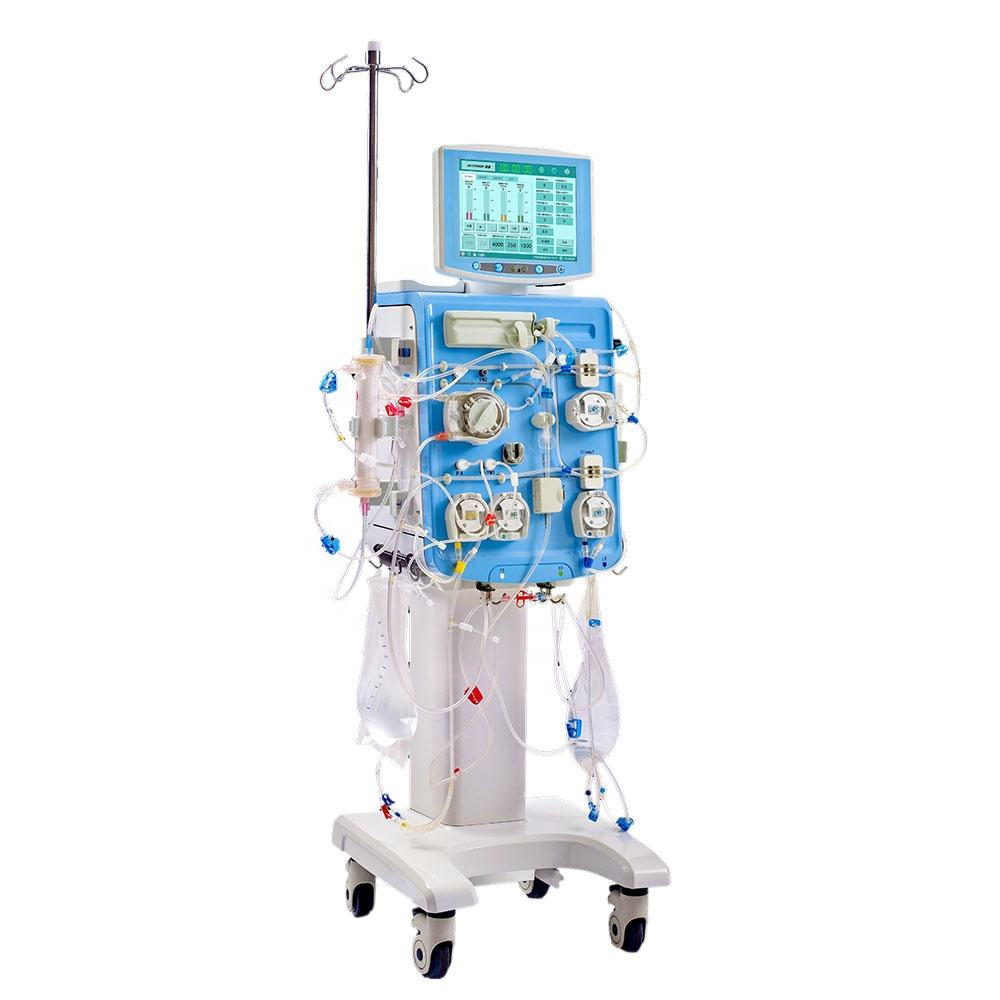 Professional CRRT Blood Hemodialysis Kidney dialysis Machine for ICU