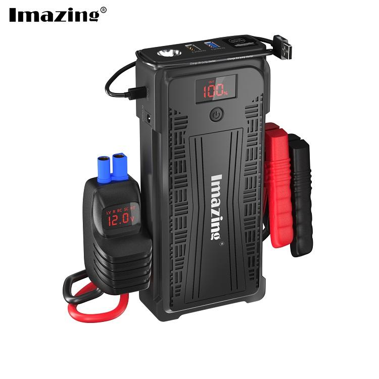12V 20000 MAh 2500A Jumper Mobil Charger Power Charge Baterai Booster