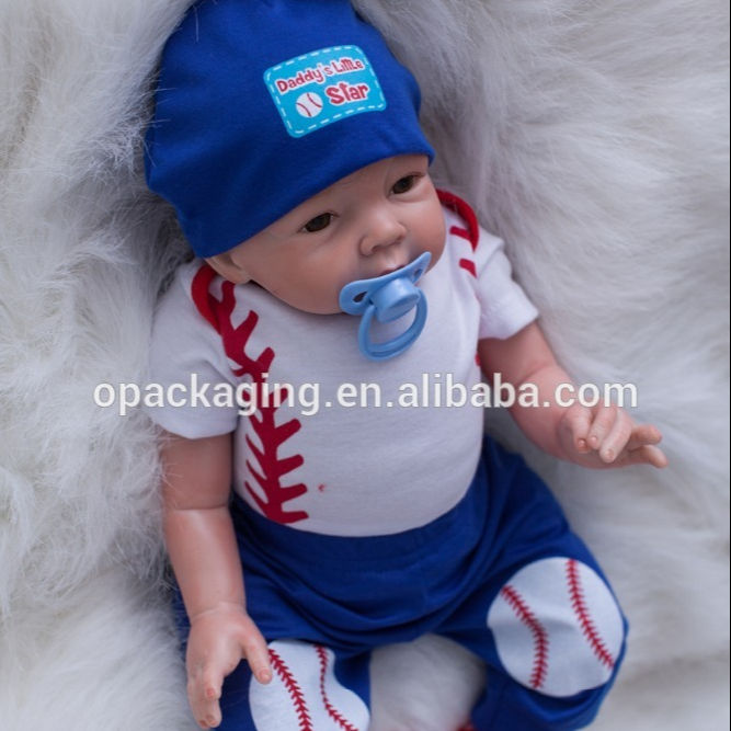 The item is ship from USA /Spain/Brazil/China warehouse 22 inch vinyl reborn doll baby dolls with magnetic mouth