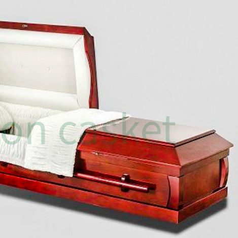 wood Cremation casket wholesale price OEM customized DH-301 cheap