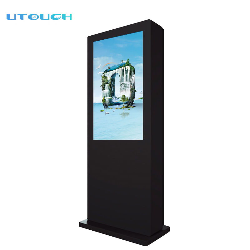 32 inch HD advertising display kiosk touch screen bus station digital signage outdoor