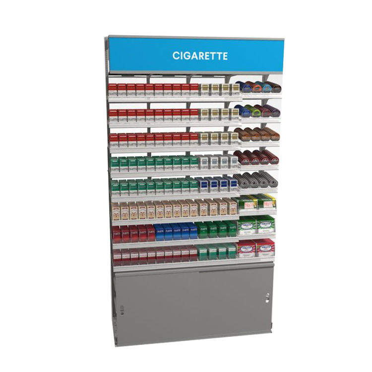 TMJ-712 China Factory Top Quality Customized Metal Convenience Store Cigarette Racks Display