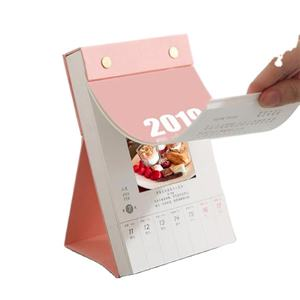 2021 calendar printing new design tear off 365 daily pages advent desk calendar for planner