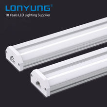 ETL DLC 4ft Double T5 integrated tube with 120LM/W led light for industry lighting