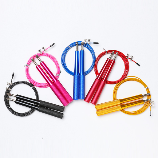 professional high quality aluminium handle high fast speed jump ropes drop shipping