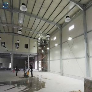 Light Steel Frame Prefab Warehouse Barn Building Industrial