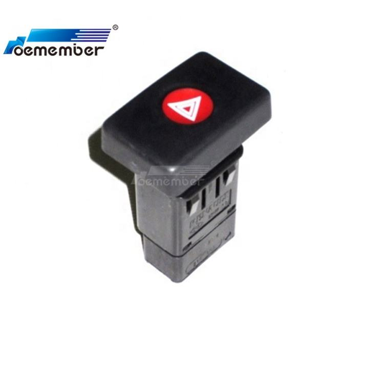 Interruptor de advertencia intermitente de luz de peligro para coche OE 6001546813
