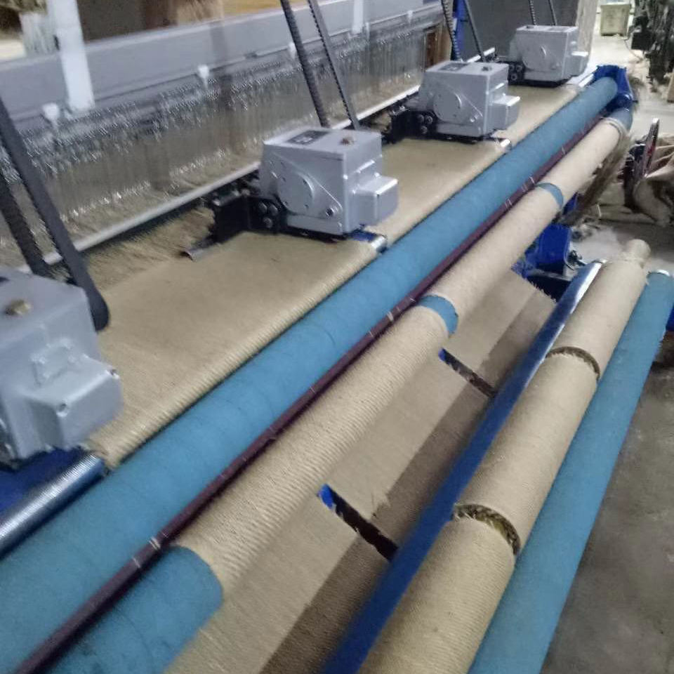 TONGDA 230cm Width Jute Fabric Rapier Loom Machine with Tuck in Devices for Different Fabric Pieces