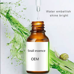 OEM ODM private label anti acne essence repair anti-aging snail whitening face serum