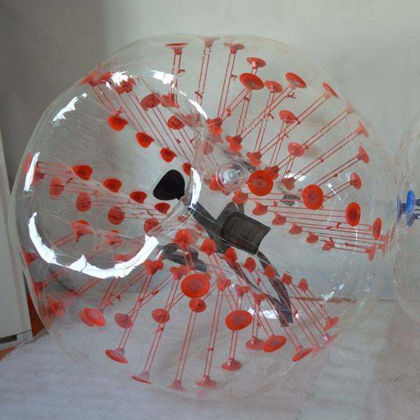1.5m diameter bubble football,body zorb,bumper balls B1027