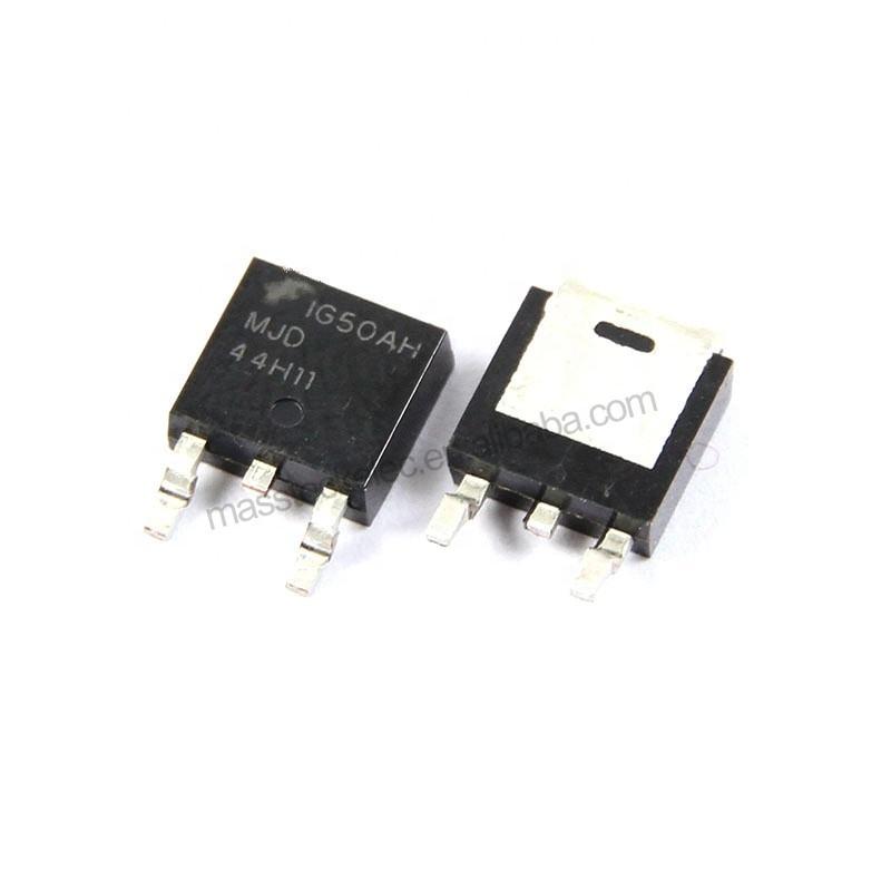 nuevo MJD44H11T4G 44H11G SMD emparejamiento Transistor de potencia TO-252 10 un