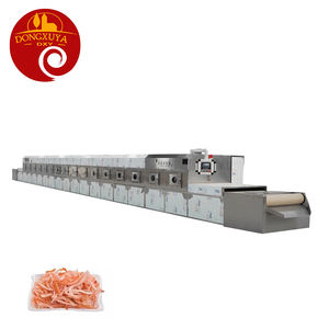 Microwave Shredded Squid Drying Machine Dehydrator Of Seafood Machine