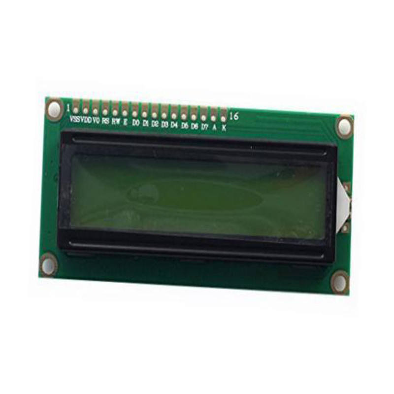 Visor Do Módulo LCD 1602 16x2 HD44780 Controlador Backlight Verde Amarelo
