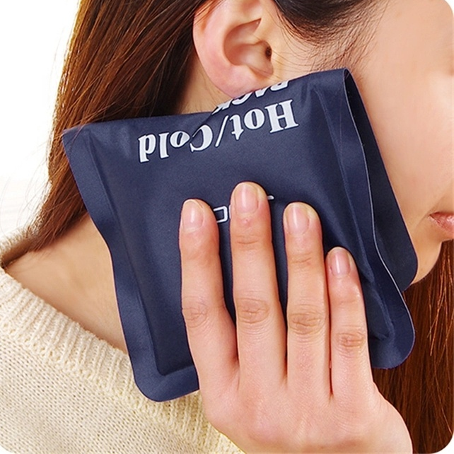 2021 New Product Custom Medical Gel Hot Cold Soft Ice Bag Pack with Beads