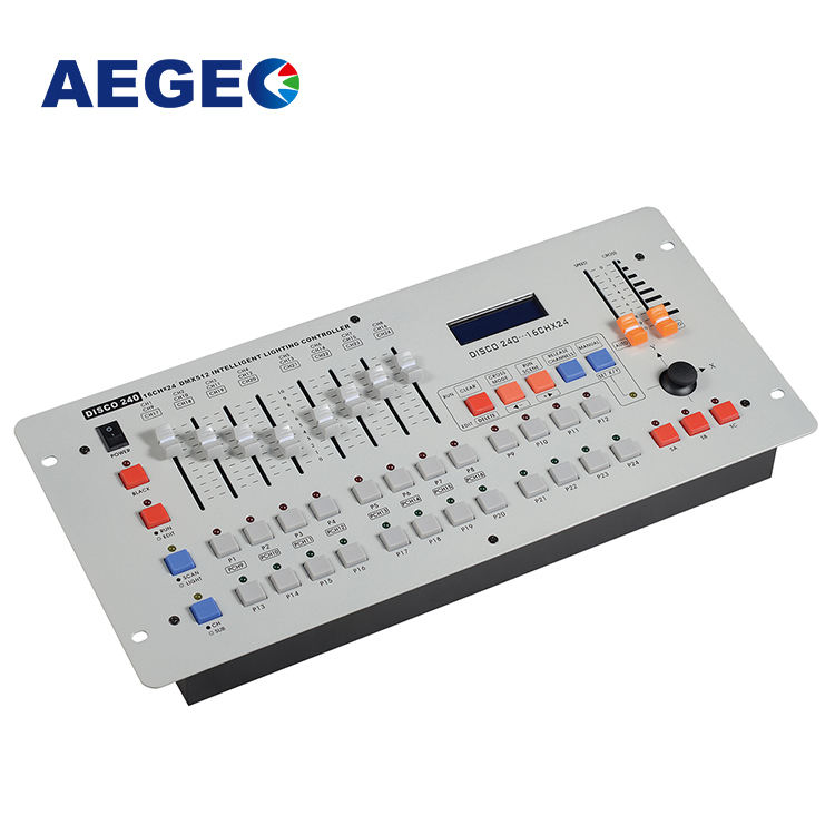 DJ stage lighting led dimmer controller 240 dmx console