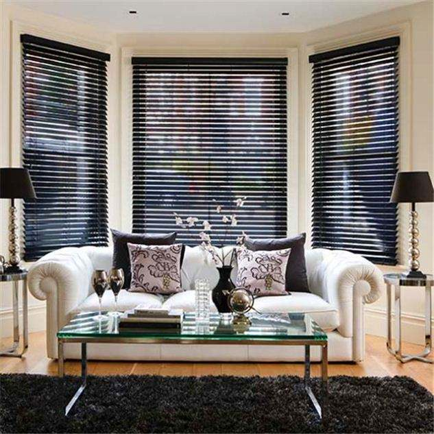 Superior Made To Order Wooden Basswood Venetian Blind With 35mm Slat