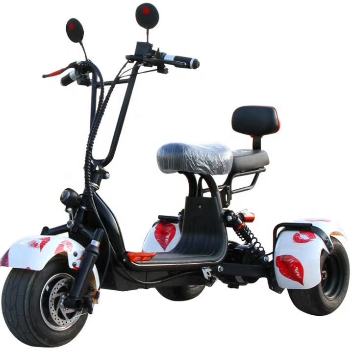 48V 800W Motor Brushless Citycoco China Scooters Adulto Triciclo scooter E-