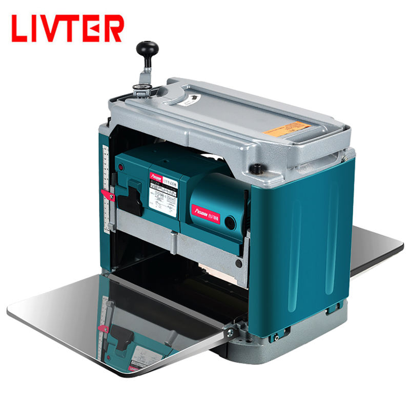 LIVTE high quality cheap price mini woodworking thickness planer / wood surface thickness machine