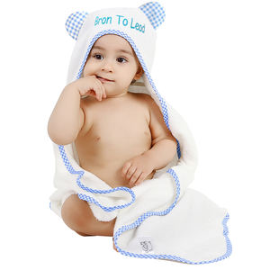 Hooded Baby Towel Stock Clearance Bamboo Hooded Baby Blanket Animal Hooded Towel Washcloth Set