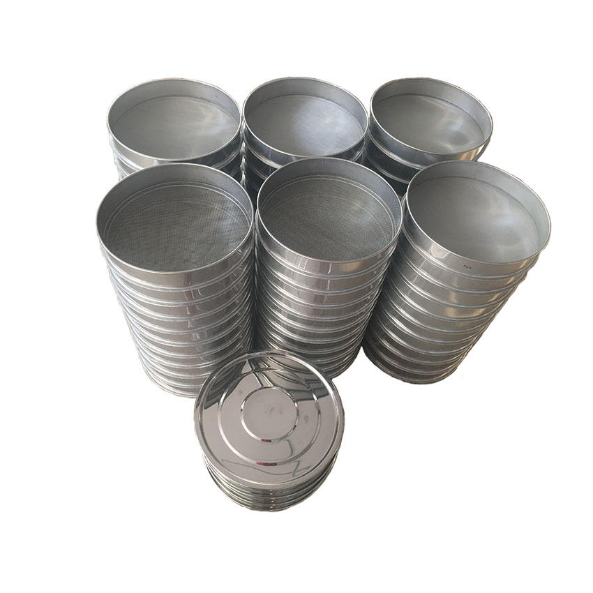 1 3 5 10 20 50 75 100 200 300 400 500 600 micron stainless steel laboratory wire mesh test sieve