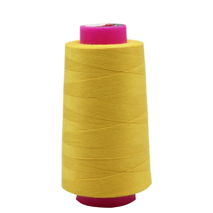 Wholesale high quality Yizheng fiber 100% spun polyester 202 20s/2 sewing thread