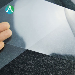 250Micron Transparent Thin Plastic Rigid PVC Film Roll for folding box