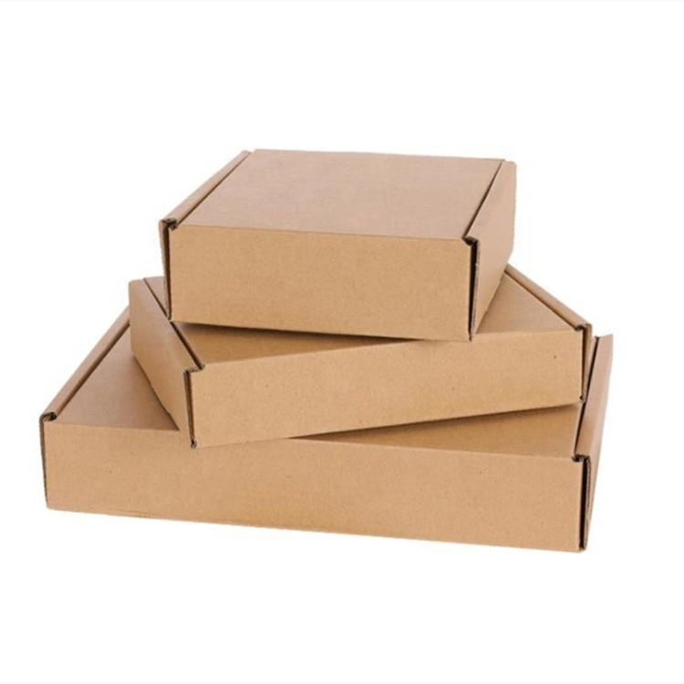 Bulk Cheap Custom Blank Kraft Cardboard Paper Boxes for Packaging