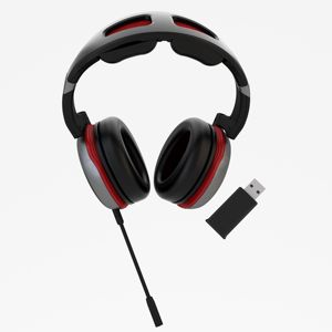 OEM nuovo 2.4ghz wireless gaming headset cuffia