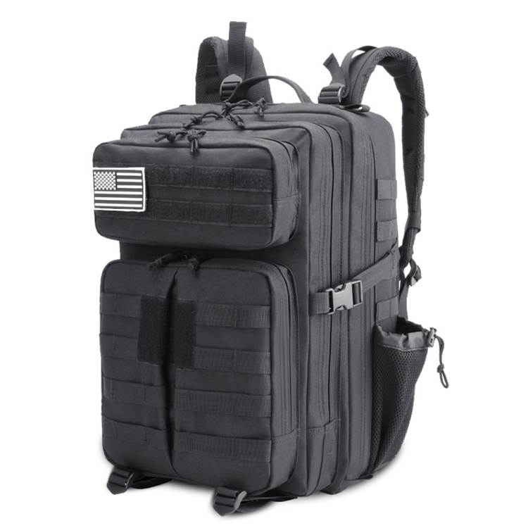 45L Large Army Military Waterproof Tactical Molle 3P Bag Backpack for Outdoor Hiking