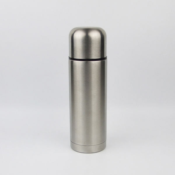 500ml Wholesale double walled classic stainless steel bullet shaped insulated vacuum flasks water bottle metal thermos