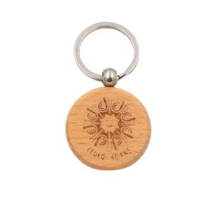 Professional manufacturer high quality custom wooden keychains