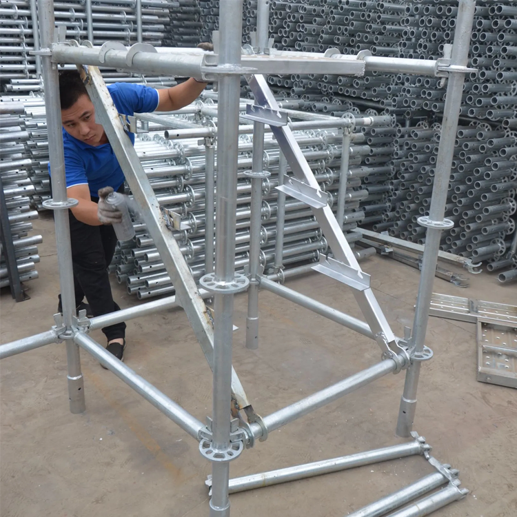 NX working platform scaffold ring lock lightweight scaffolding system construction ring lock system scaffolding material weight