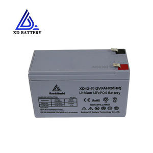 China fabriek lange levensduur ion lithium 12v 8ah batterij voor water motor energie supply