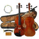 Free Shipping Musical instrument manufacturer cheap handmade violin made in China HV08B
