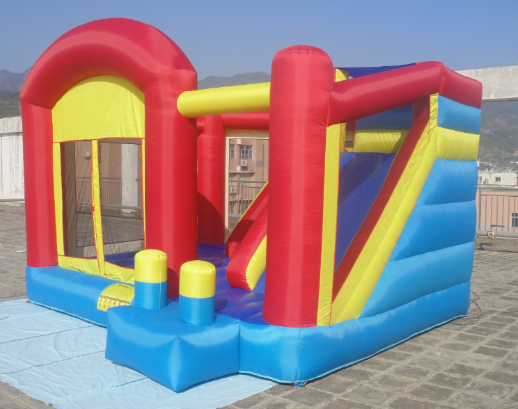 Small Bouncy Castle Feature And Polyester Material Inflatable Small Bouncer