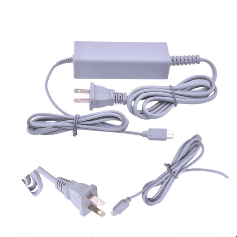 100-240V For Nintendo Wii U Gamepad AC Charger For Wii U Adapter Power Supply
