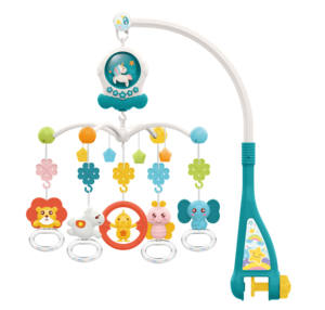 New Gift electric bed bell musical mobile hanging sleep toys crib bell for baby