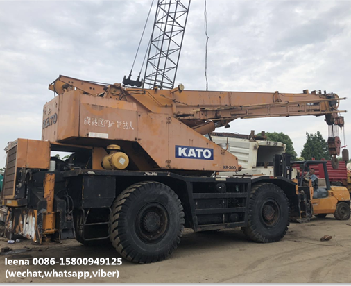 hot sale Kato rough terrian crane 30 ton KR300