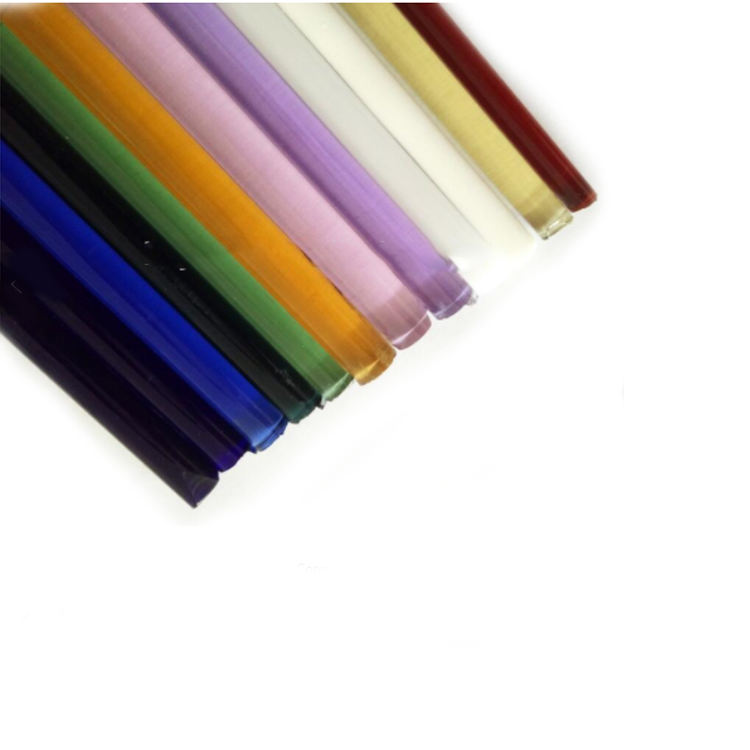 Huailai Professional Manufacture heat resistance Borosilicate Colored Clear solid Glass Rod 3.3 from China