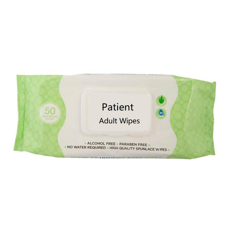 Factory Price Elderly Washcloth Wet Adult Wipes Patience care
