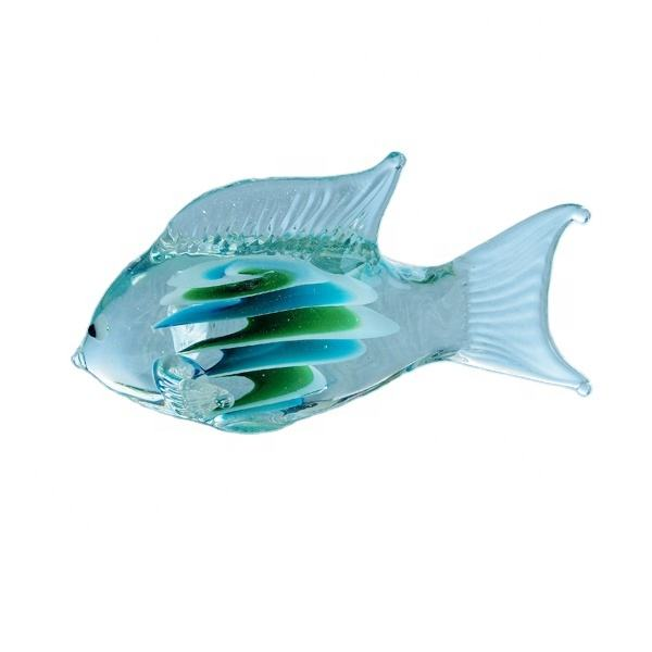 Glass manufacturer in china of murano glass fish figurines